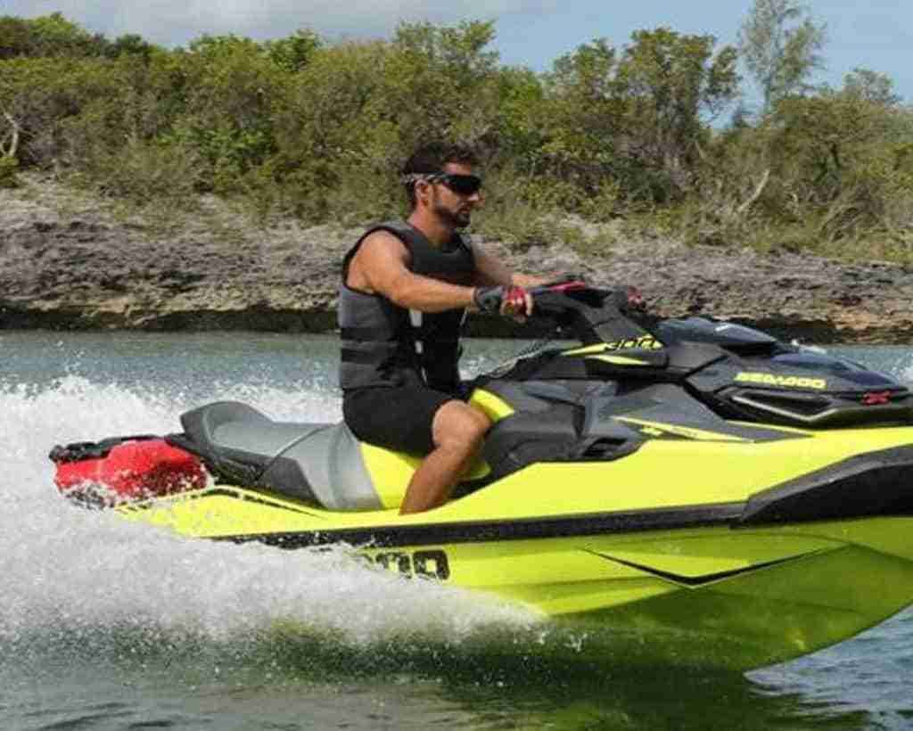 SeaDoo Clip-On Gas Can For Jet Ski