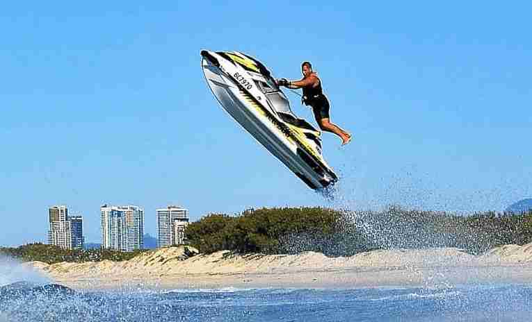 Guide for jet ski wave jumping
