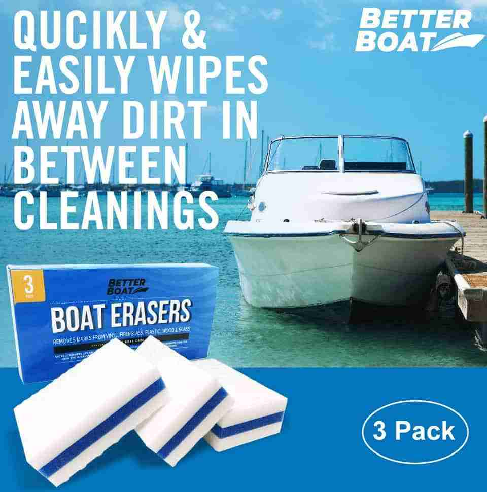 Jet ski cleaning stain remover