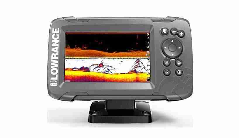 Lowrance fish finder jet ski electronics