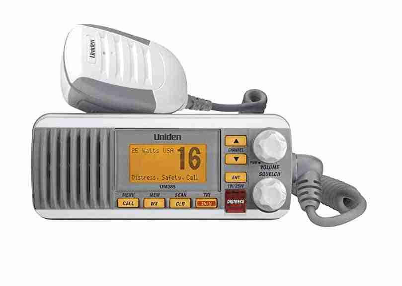Uniden mounted personal watercraft VHF radio