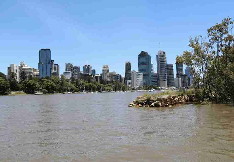 The Brisbane River is one of many Dirty Rivers that jet ski rivers avoid